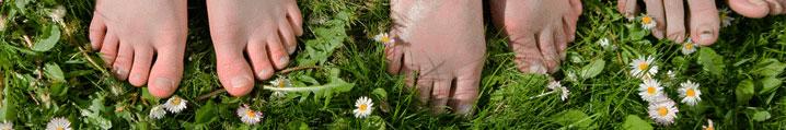 Feet-Grass